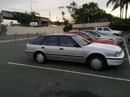 1989 nissan stanza curbside classic 1989 92 ford corsair nissan pintara u2013 a lame