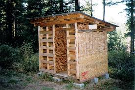 Free Wood Shed Plans Materials List by Free Firewood Shed Plans How To Build Diy By