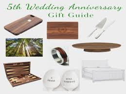 five year anniversary gift ideas wood anniversary gifts 5th anniversary gift ideas