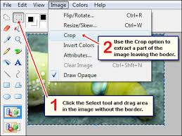 how to remove image border quick steps