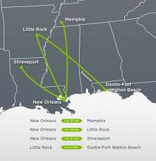 Fort Walton Beach Map Glo Airline