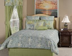 Map Bedding Amazon Com Victor Mill Island Song Surf Comforter Set King Home