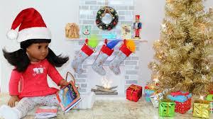 diy american doll fireplace youtube