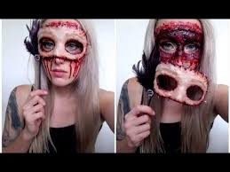 Spooky Halloween Costumes Ideas Best 25 Gory Halloween Makeup Ideas On Pinterest Special