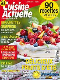 cuisine actuelle patisserie pdf cuisine actuelle août 2015 no 296 pdf magazines