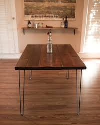 Ft Hairpin Dining Table Modern Dining Tables Los Angeles - Dining room tables los angeles