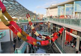 Christmas Decorations Shop In Liverpool retail centre opening shops shoppers outlets stock photos u0026 retail