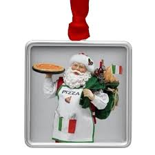 the italian chef santa ornament greeting cards much