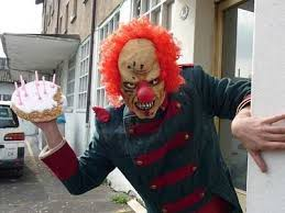 rent a clown for a birthday party party to do list buy balloons make food rent evil clown