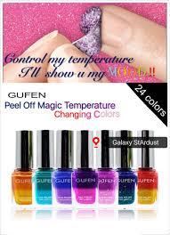 nail polish muslimah peel off magic thermal color change dbp free