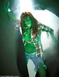 jodie marsh dresses incredible hulk admits kirk
