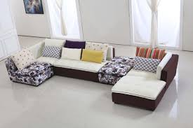 furniture bright yellow sofa with sectional style with colorful