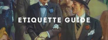Rules Of Civility Table Etiquette Guide To Informal by Etiquette Guide U2014 Gentleman U0027s Gazette
