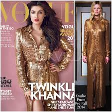 yay or nay twinkle khanna covers vogue india in emilio pucci