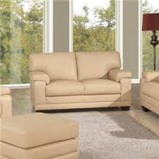 Beige Leather Loveseat Loveseats Washington Dc Northern Virginia Maryland And Fairfax