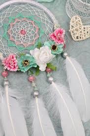 dreamcatcher white catcher roses dreamcatcher