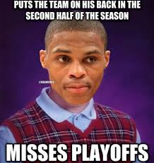 Westbrook Meme - 16 best memes of russell westbrook oklahoma city thunder missing