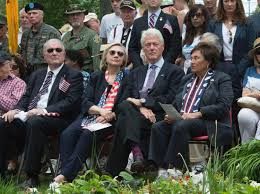 chappaqua ny clintons march in chappaqua memorial day parade ny daily news