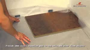 Removing Cork Floor Tiles How To Install Wicanders Cork Flooring 5g Youtube