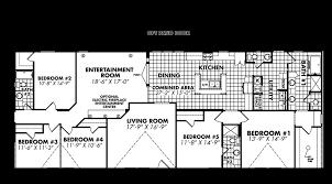 5 bedroom double wide floor plans 5 bedroom double wide trailer homeminimalist co