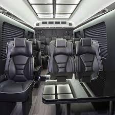 Sprinter Bench Seat Chicago Sprinter Van Rental Vans Rentals In Chicago U0026 Suburbs