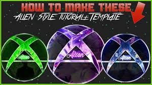 tutorial new alien style free template youtube