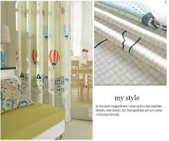 Balloon Curtains For Bedroom by Balloon Curtains Korean Style Grey Drapes Punching Window