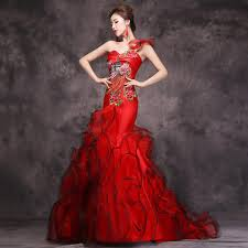 aliexpress com buy 2016 luxury red evening dress chinese