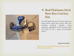 bud light beer box hat best bud light beer box cowboy hats