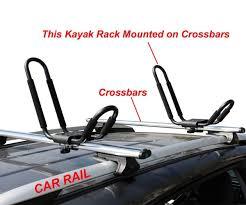 nissan titan kayak rack j bar rack hd kayak carrier canoe boat surf ski roof top mount car