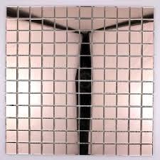 Faience Mosaique Salle De Bain by Mosaique Verre Carrelage Effet Miroir Reflect Rose Carrelage