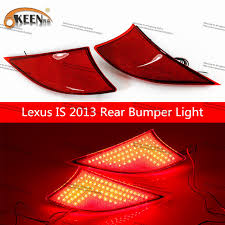 lexus indicator lights okeen for lexus is led lights led rear turn signal cars stop