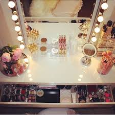 How To Organize A Vanity Table 17 Best Images About Dressing Table Dreams On Pinterest Makeup
