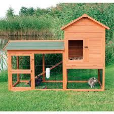 Advantek Stilt House Rabbit Hutch Amazon Com Trixie Pet Products Rabbit Hutch With Outdoor Run