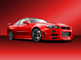 red nissan car nissan skyline gt r vector by hoshiboshi on deviantart