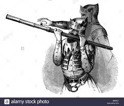 military arms and armour hand cannon 14th century wood