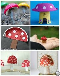 10 spring mushroom crafts for kids planning playtime