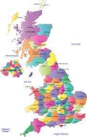 Blank Map Britain by Geography Blog Map Of Uk United Kingdom Detailed