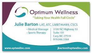 Sports Massage Business Cards Business Card Templates