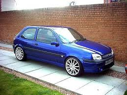 ford focus fiesta escort mondeo imperial blue rs cosworth touch up