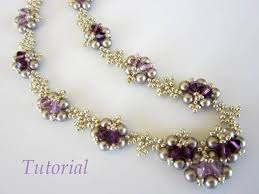 beaded jewelry necklace images Pdf beaded necklace tutorial seed bead crystal pearl jpg