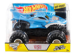 monster truck show today amazon com wheels monster jam shark die cast vehicle 1 24