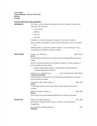 Truck Resume Stylist And Luxury Forklift Driver Resume 14 Forklift Operator
