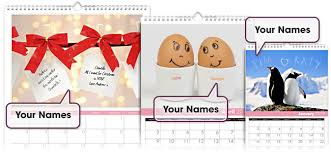 personalized pictures with names personalized me you wall calendar simply personalized