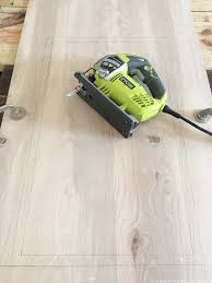 How To Cut Wood Laminate Flooring How To Create Wood Counters From Flooring In A Rv