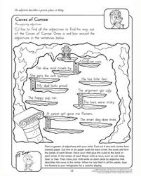 caves of cumae u2013 adjective worksheets for 2nd grade u2013 jumpstart