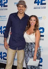 Basketball Wives Matt Barnes Calista Flockhart Supports Harrison Ford And Baseball Team As