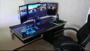 bureau ordinateur intégré un ordinateur totalement intégré dans un bureau par cherry