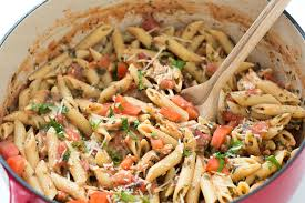 Pasta Recipes by 20 Minute Tuscan Chicken With Penne Pasta Gal On A Mission