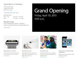 Apple Store Paris by Apple Reminds Us Apple Watch Will Be Available In London Paris